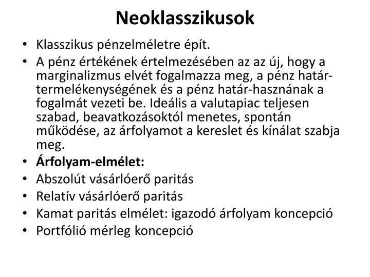 Neoklasszikusok