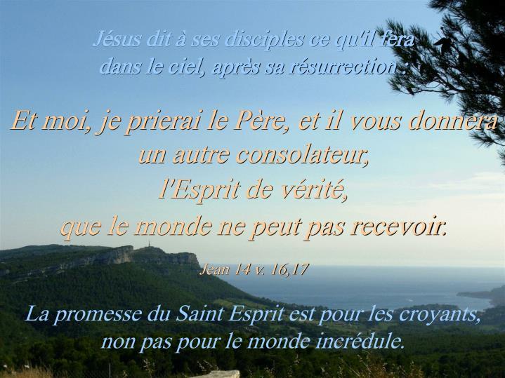 Jean 14 v. 16,17