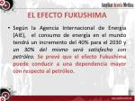 el efecto fukushima
