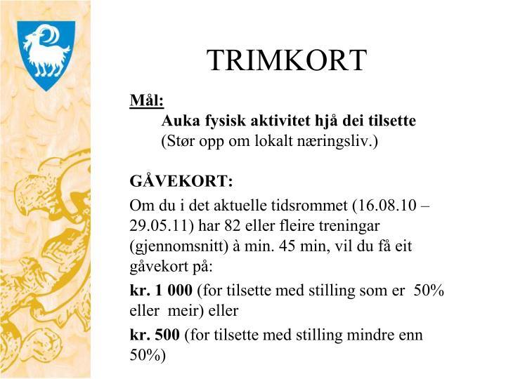 TRIMKORT