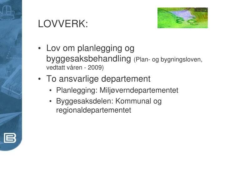 LOVVERK: