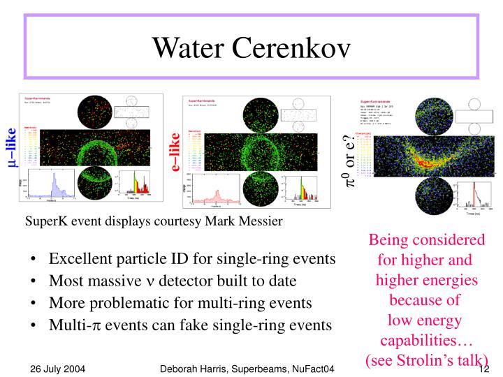 Water Cerenkov