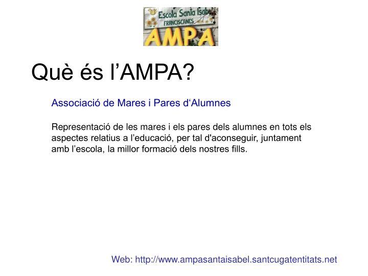 Què és l'AMPA?
