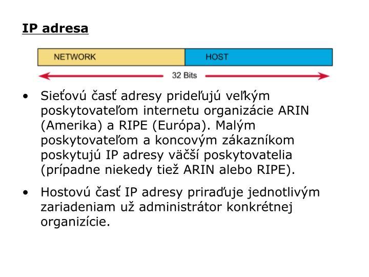 IP adresa