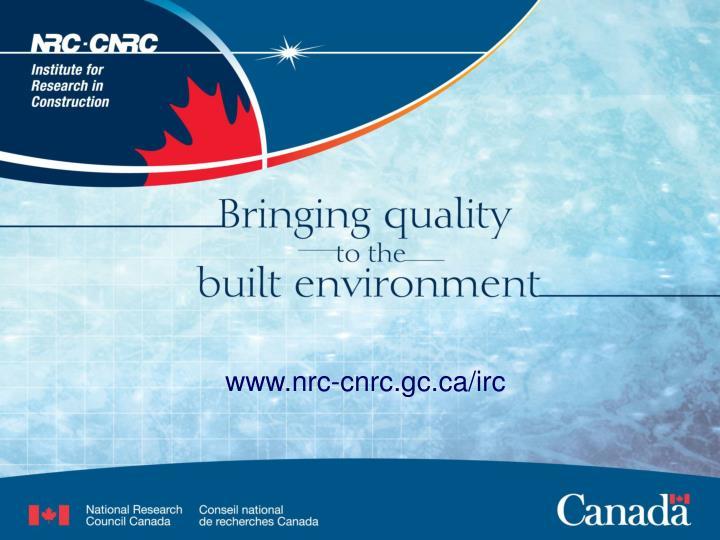 www.nrc-cnrc.gc.ca/irc