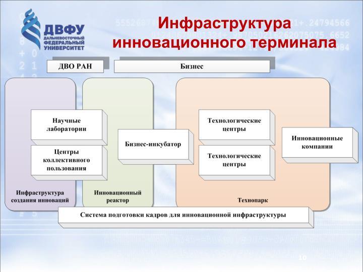 Инфраструктура инновационного терминала