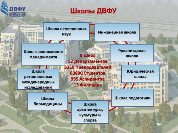 Школы ДВФУ
