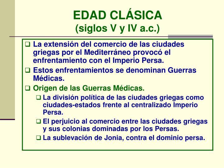 EDAD CLÁSICA