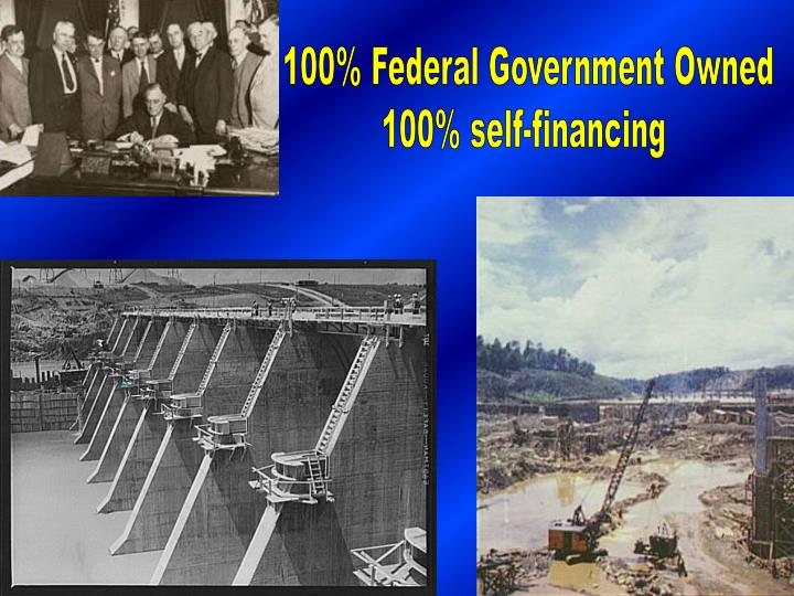 100% Federal Government Owned