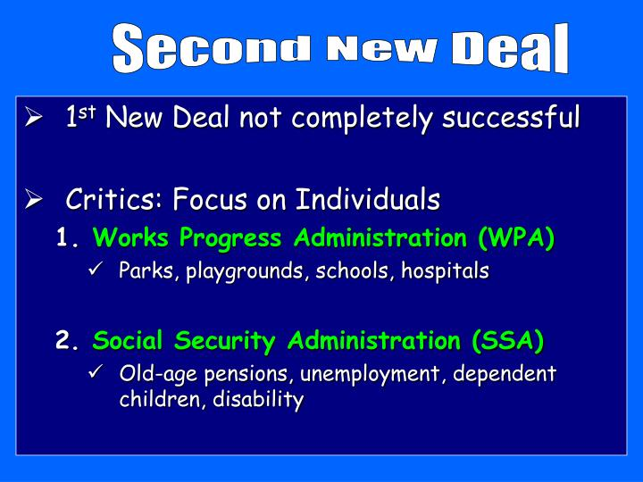 Second New Deal