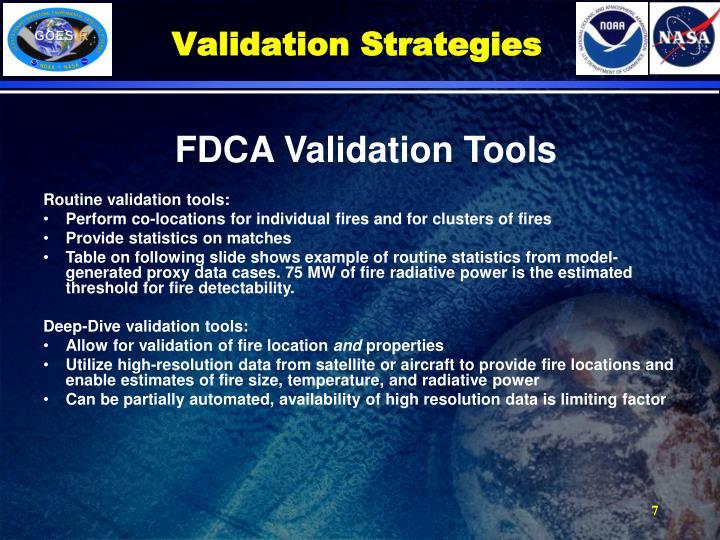 Validation Strategies