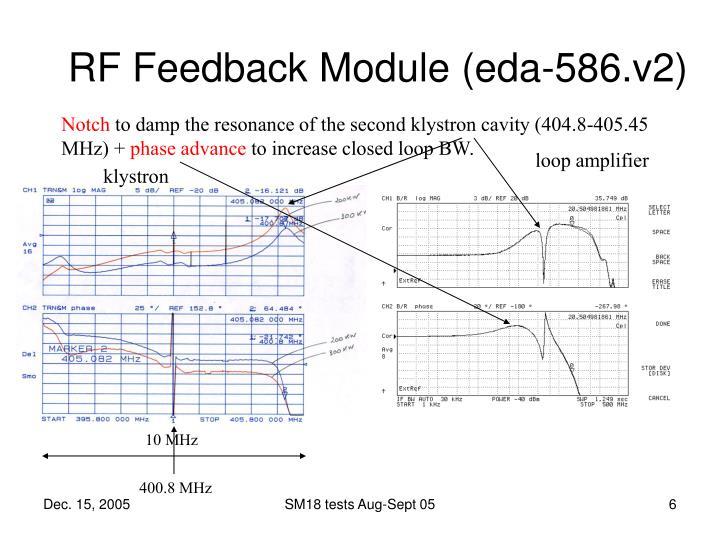 RF Feedback Module (eda-586.v2)
