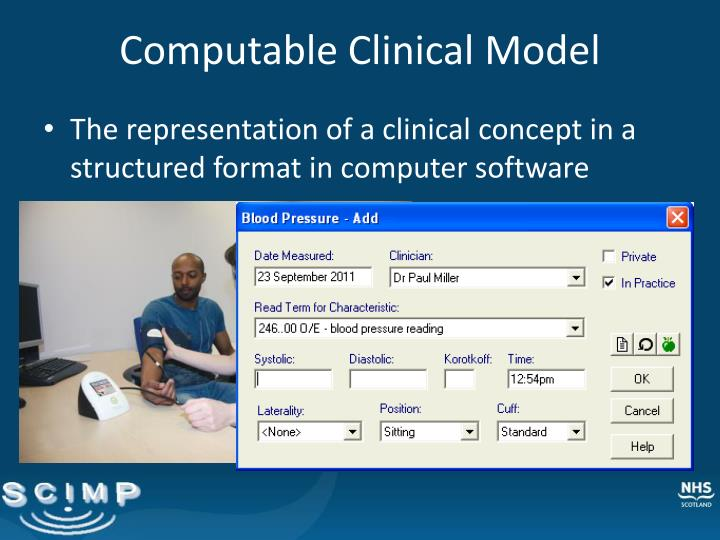 Computable Clinical Model