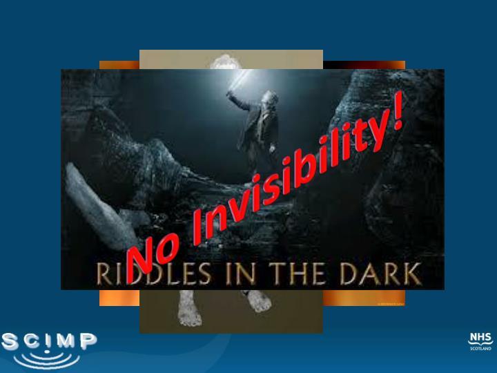 No Invisibility!
