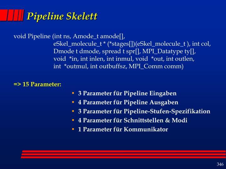 Pipeline Skelett