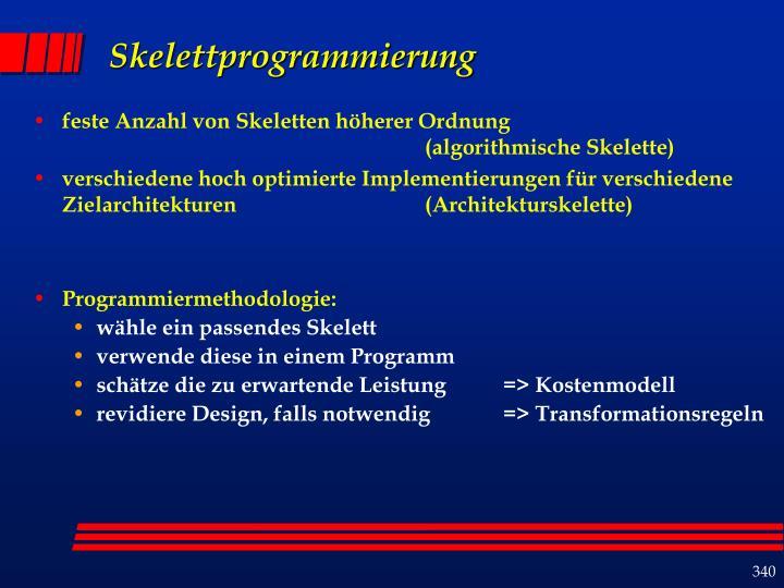 Skelettprogrammierung