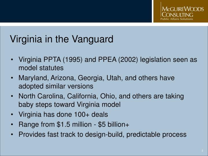 Virginia in the Vanguard