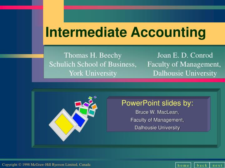 mcgraw hill intermediate accounting