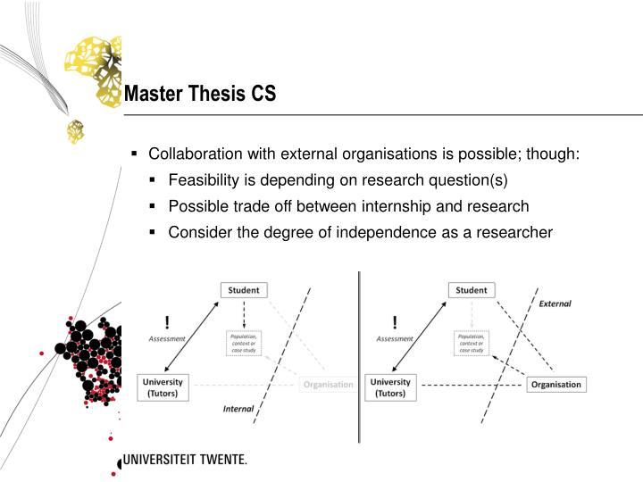 Master Thesis CS