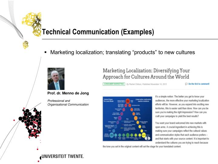 Technical Communication (Examples)