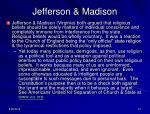 jefferson madison
