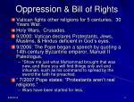 oppression bill of rights1