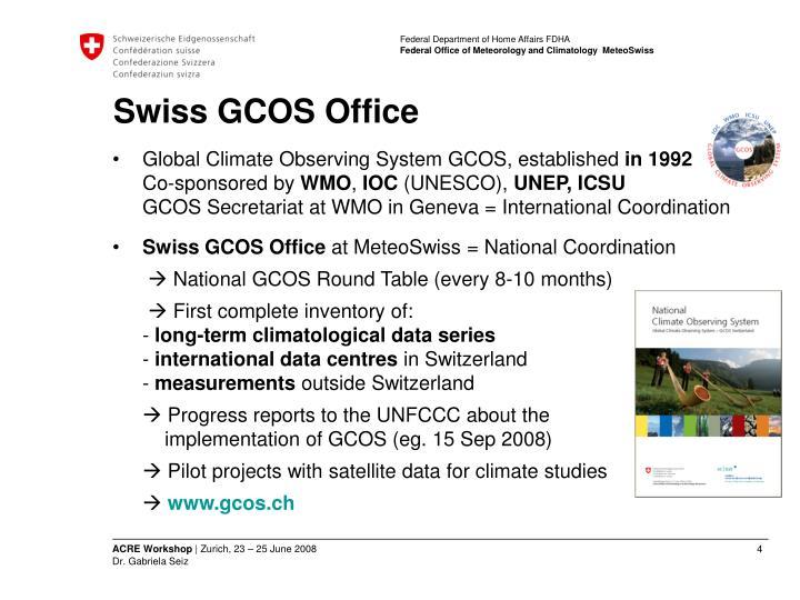 Swiss GCOS Office
