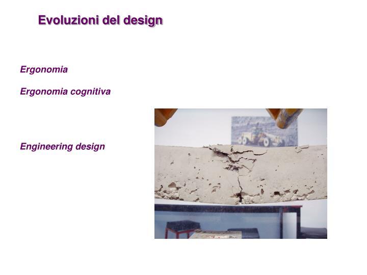 Evoluzioni del design