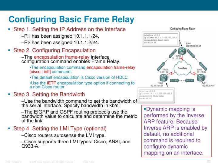 Configuring Basic Frame Relay