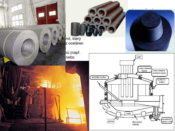 Výroba oceli v elektrických obloukových pecích