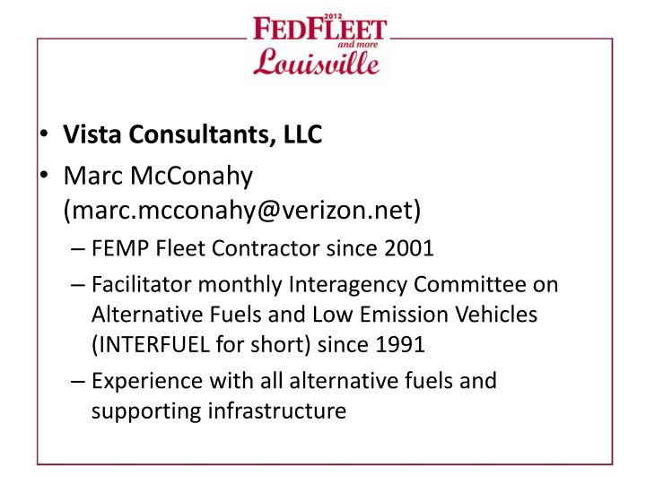 Vista Consultants, LLC