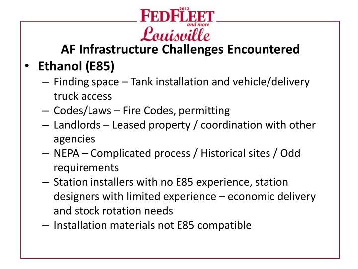 AF Infrastructure