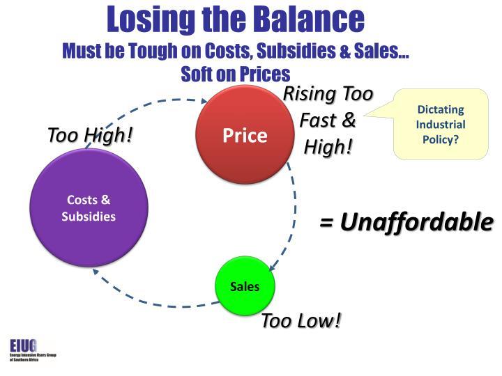 Losing the Balance