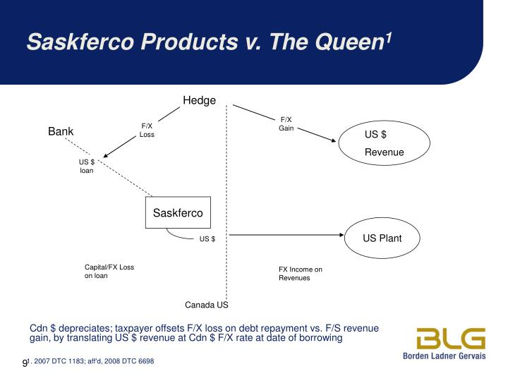 Saskferco Products v. The Queen