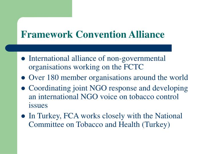 Framework Convention Alliance