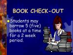 book check out