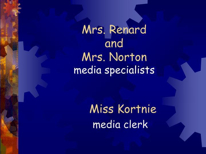 Mrs. Renard