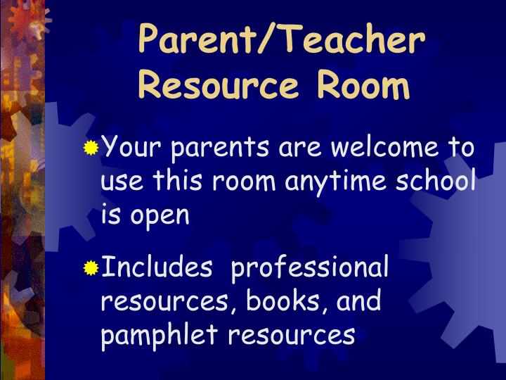 Parent/Teacher
