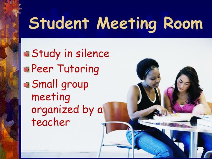Student Meeting Room