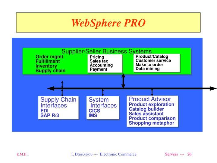 WebSphere PRO