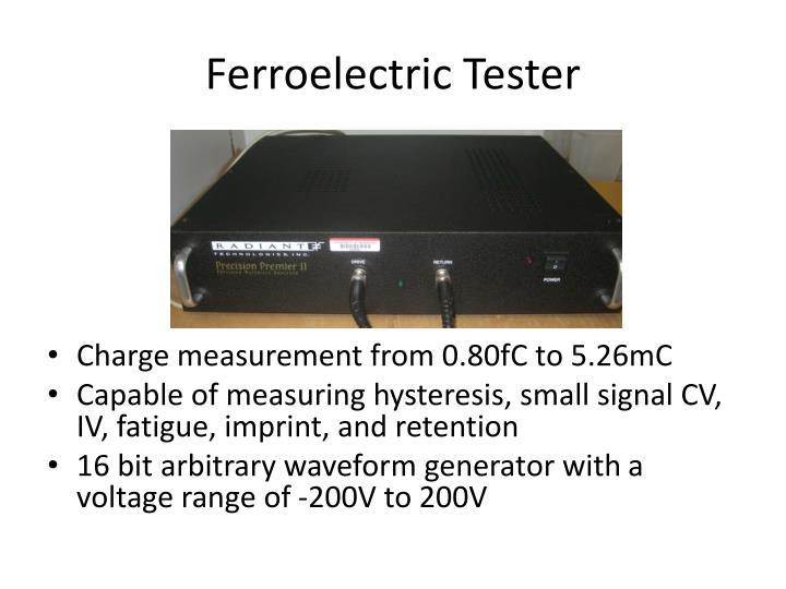 Ferroelectric Tester