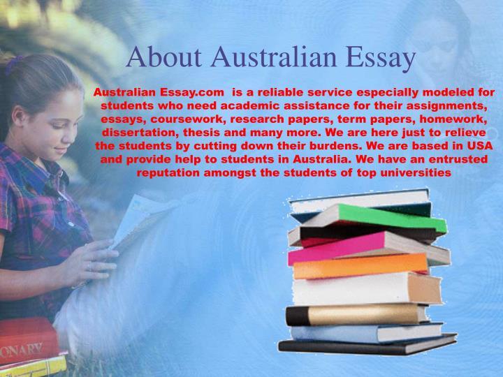 About Australian Essay