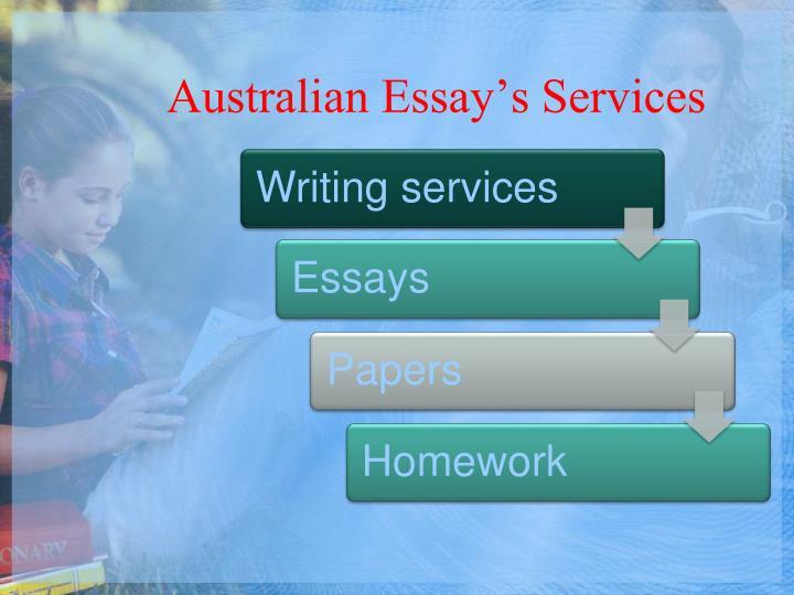 Australian Essay's Services