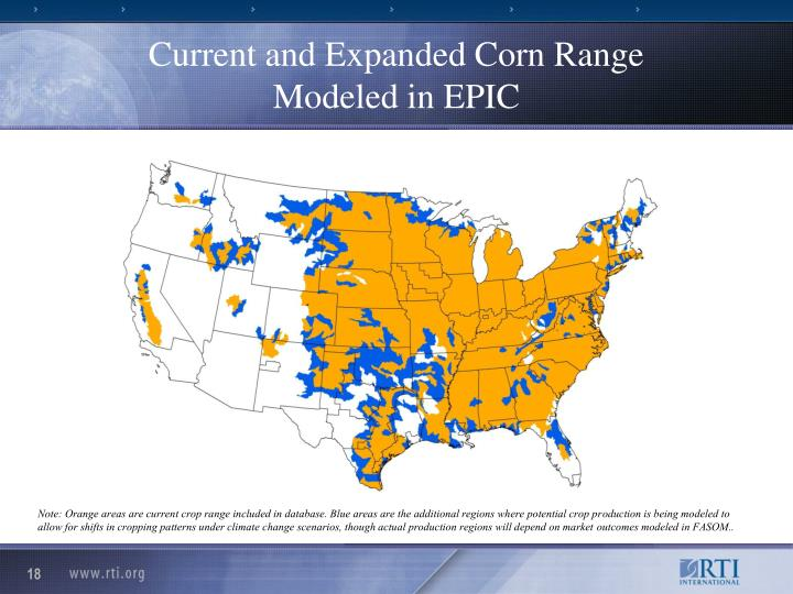 Current and Expanded Corn Range