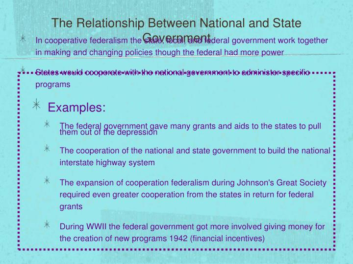 relationship between federal government and state in nigeria