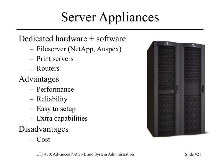 Server Appliances