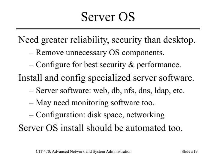 Server OS