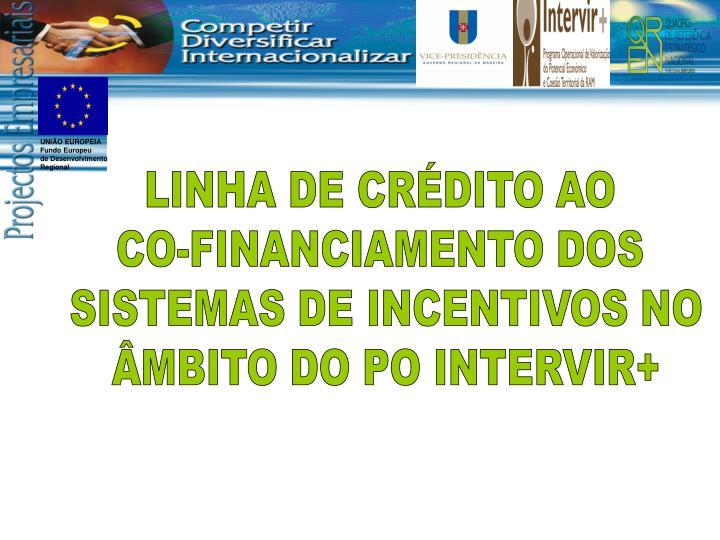 LINHA DE CRÉDITO AO