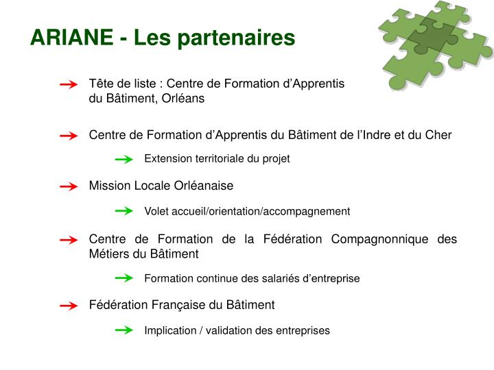 Centre de Formation de la Fédération Compagnonnique des Métiers du Bâtiment