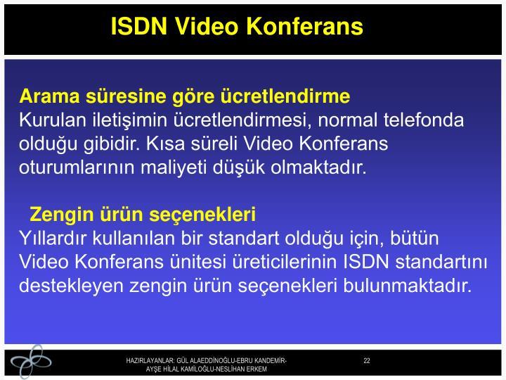 ISDN Video Konferans
